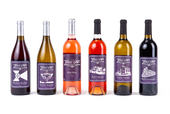 product photo of Jenny Dawn Cellars wine bottles